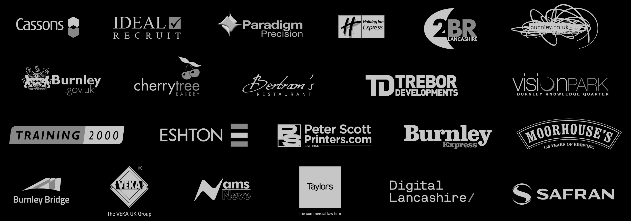 our sponsors for 2017