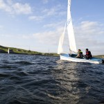 burnley, sailing at clowbridge reservoir