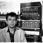Peter Gabriel with AMS digital boxes 2