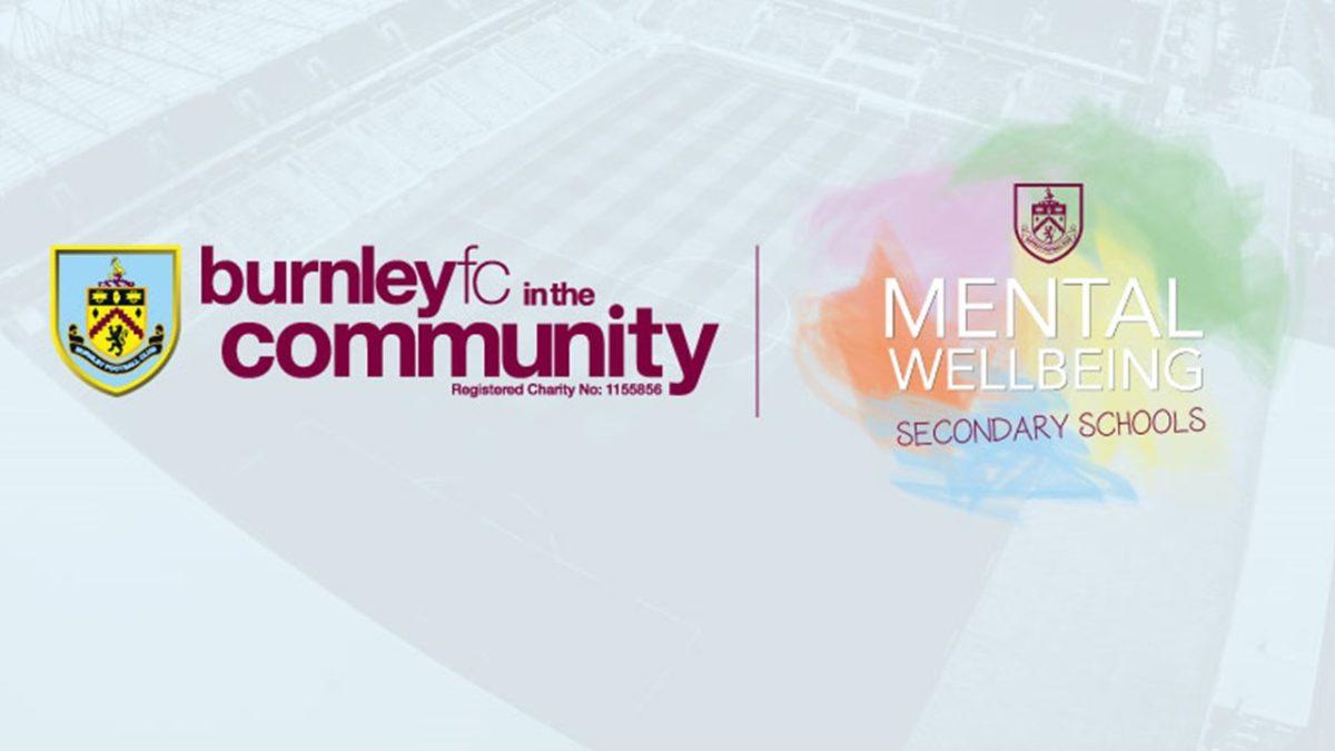 Burnley fc in the Community logo