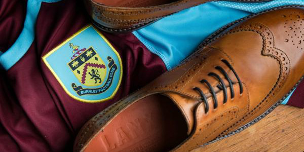 Burnley f.c. top abd Lanx leather shoes