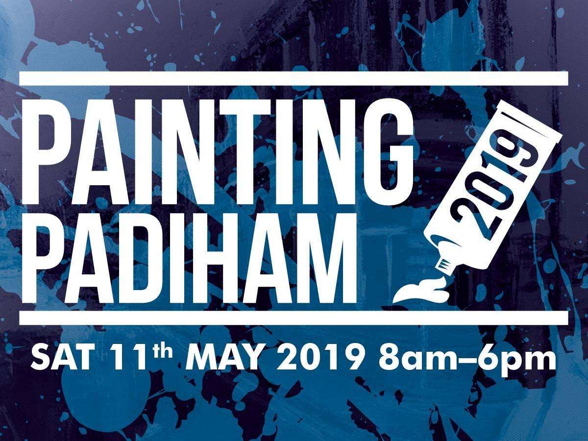 Painting Padiham Banner