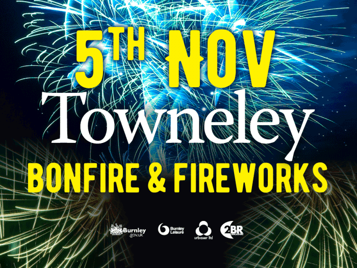 5th Nov Towneley Bonfire & Fireworks