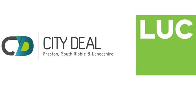 LUC light green logo with City Deal logo
