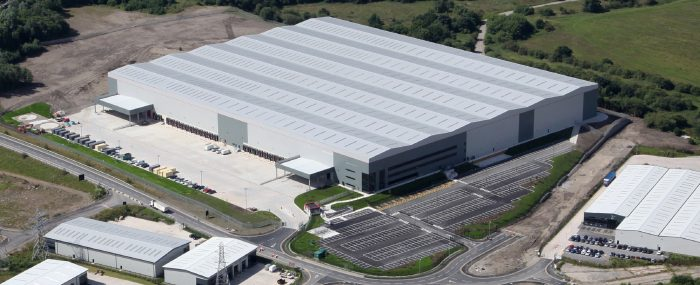 Drone photo of Exertis Distribution Centre