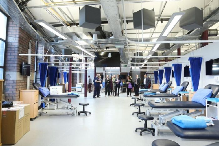 UCLan medical facility