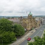 Town Hall arial shot