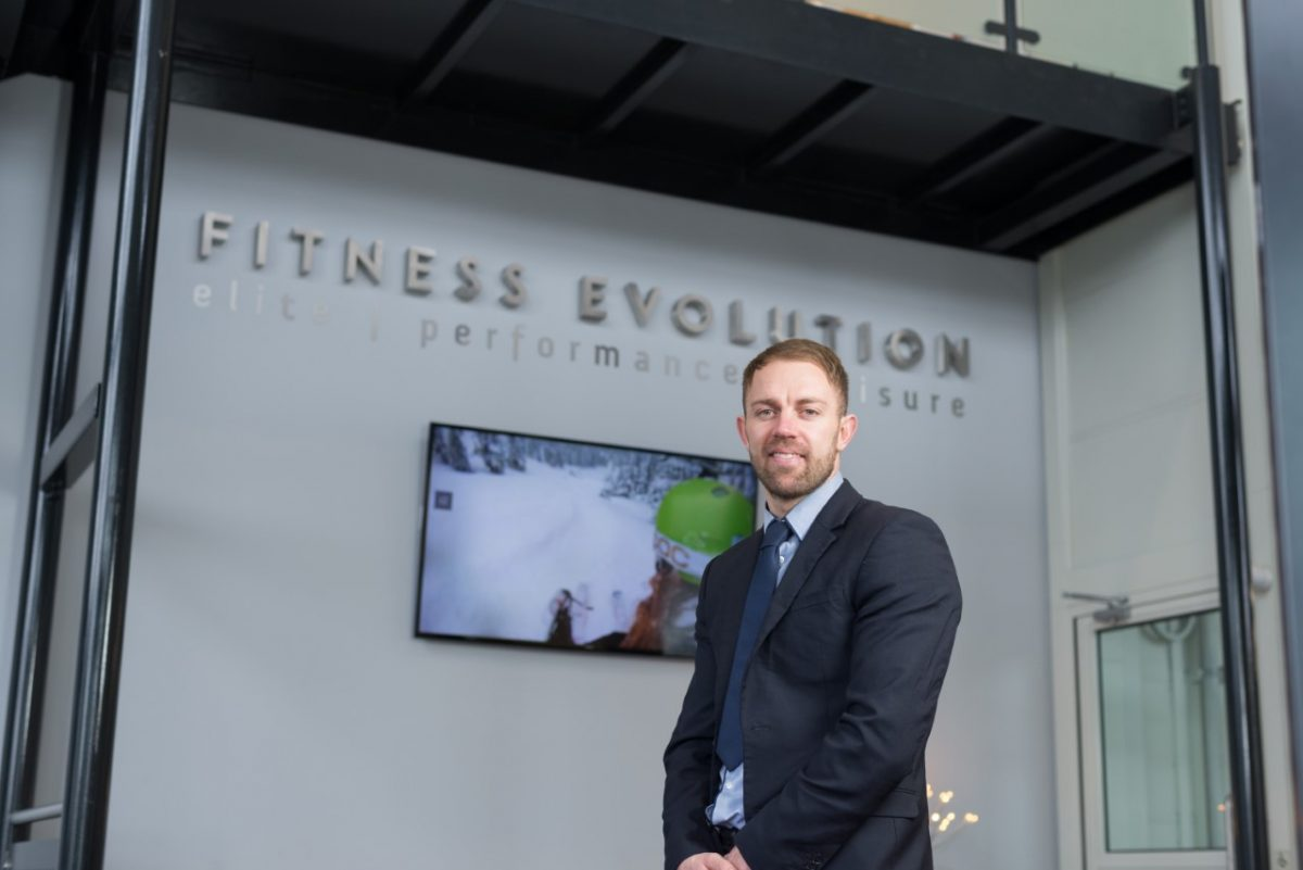 Manager Ashley in fitness Evolution