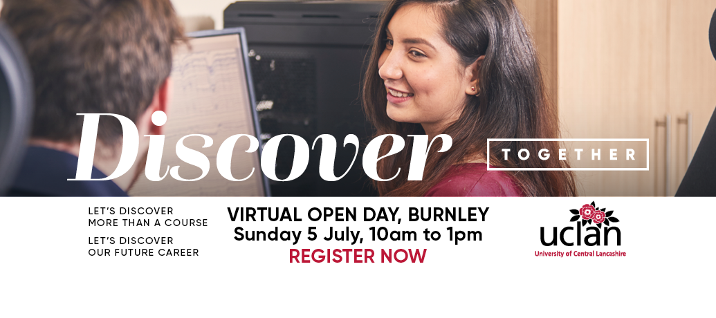 UCLan Virtual OpenDay