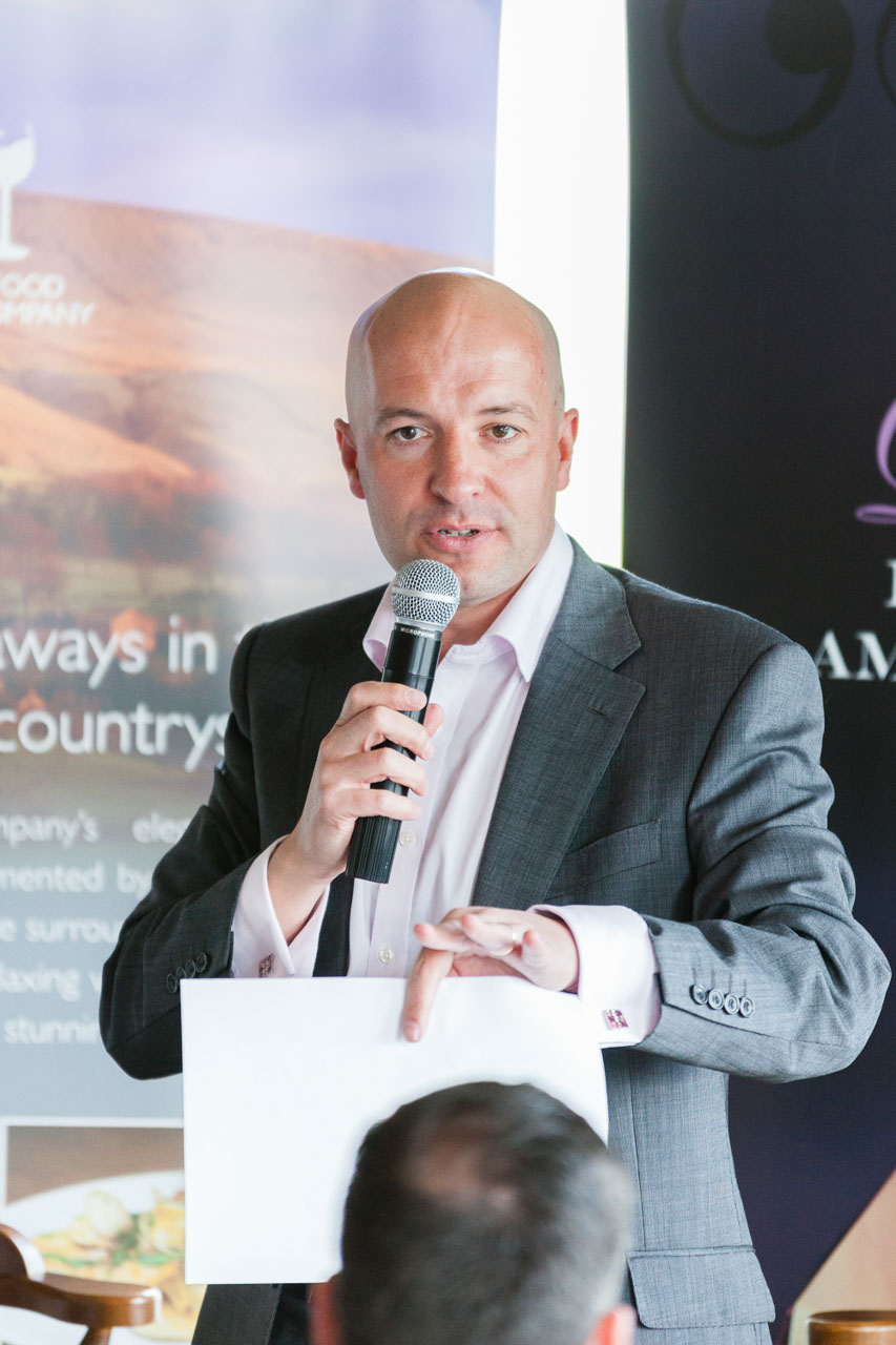 Simon Brierley, Membership Director, East Lancashire Chamber of Commerce