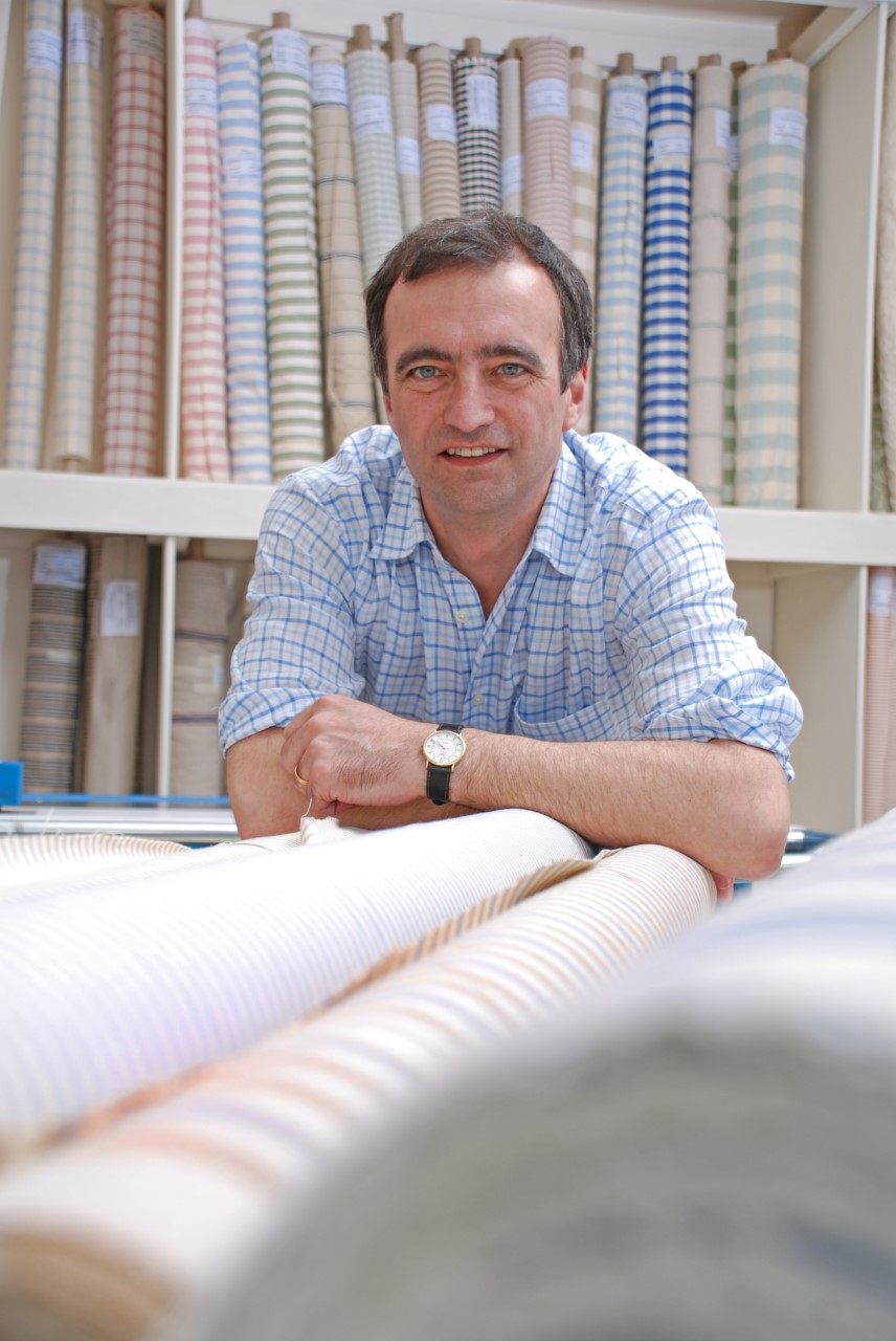 David Collinge, Chairman, John Spencer Textiles
