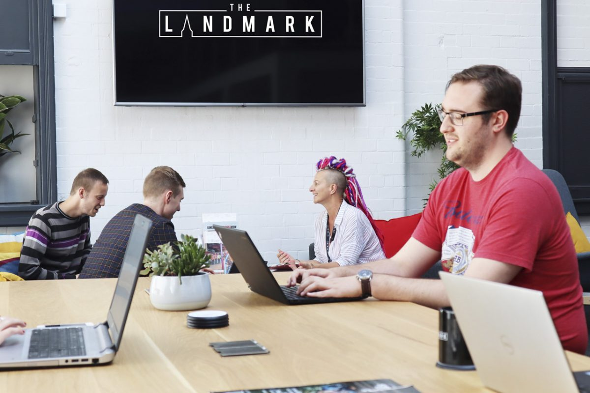 shared office space at The Landmark