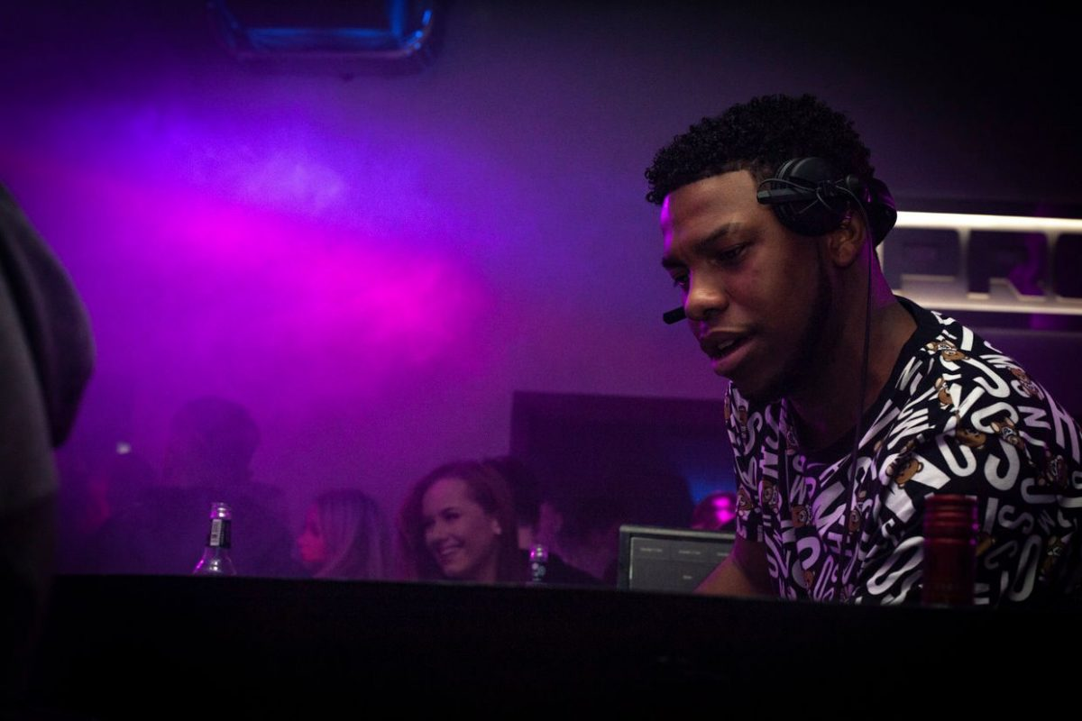 a DJ playing at a Burnley nightclub