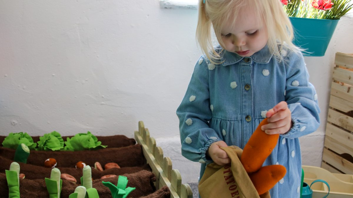 The role play farm at Tiny Tots Town Burnley