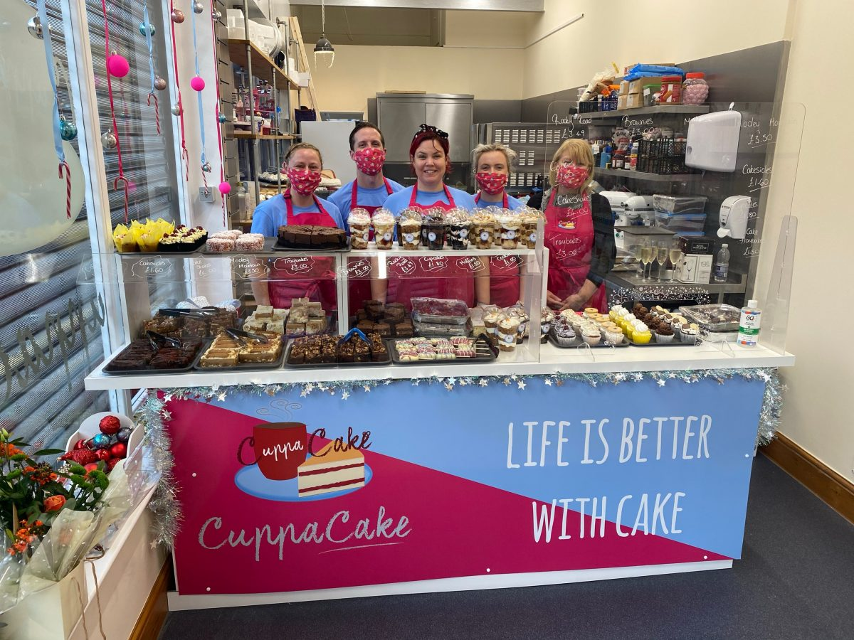 A photo of the team at Cuppa Cake Burnley
