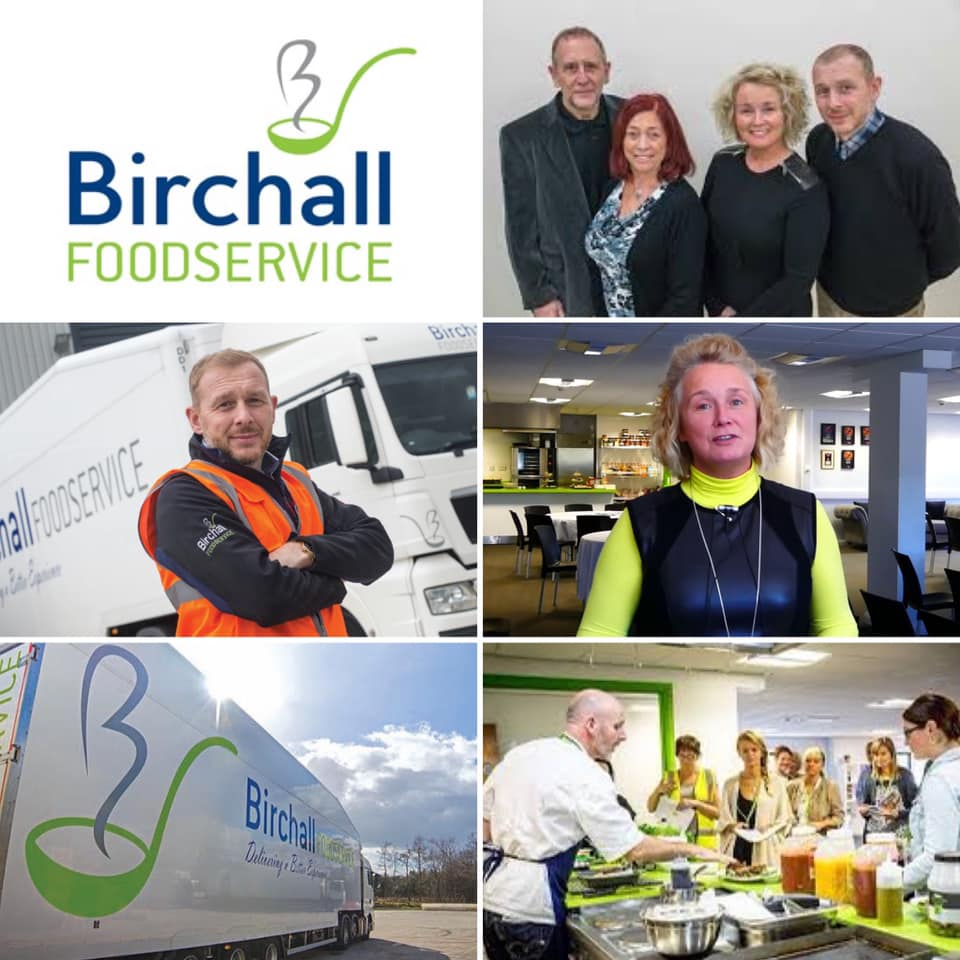 Birchall Foodservice collage